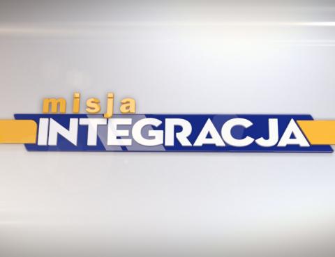 """Logo programu telewizyjnego """"Misja Integracja"""""""
