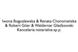Logo kancelarii notarialnej Iwony Bogusławskiej i wspólników