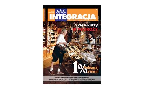 "Okładka magazynu ""Integracja"" 1/2011"