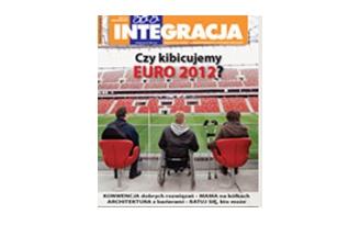 "Okładka magazynu ""Integracja"" 2/2012"