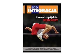 "Okładka magazynu ""Integracja"" 4/2012"