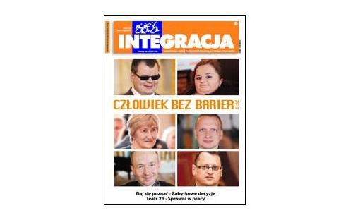 "Okładka magazynu ""Integracja"" 5/2013"
