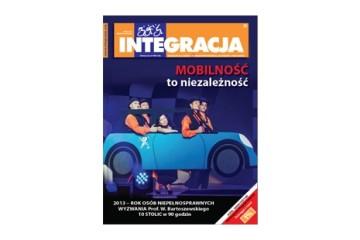 "Okładka magazynu ""Integracja"" 6/2012"