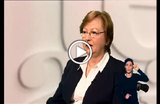 Teresa Hernik - prezez Państwowego Funduszu Rehabilitacji Osób Niepełnosprawnych