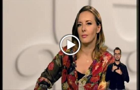 "Monika Kuszyńska w studio programu ""Misja Integracja"""