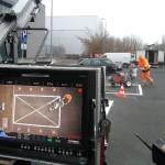Plan zdjęciowy spoty telewizyjnego kampanii parkingowej