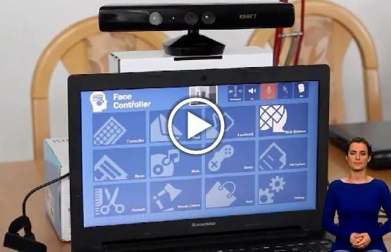Aplikacja Face Controller, stworzona z myślą o osobach z niepełnosprawnością