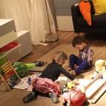Dzieci na planie zdjęciowym