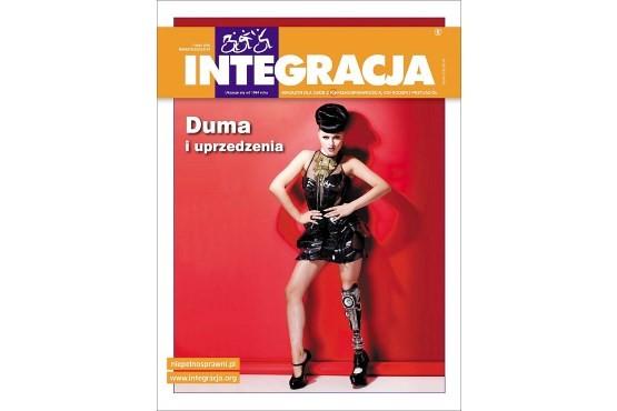 "Okładka magazynu ""Integracja"" nr 1/2015"