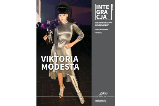 miniatura okładka Integracji 6/2015 z Viktorią Modestą