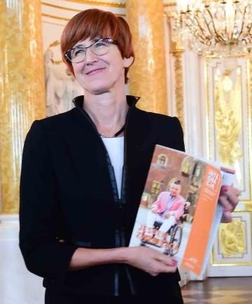 Elżbieta Rafalska z magazynem Integracja