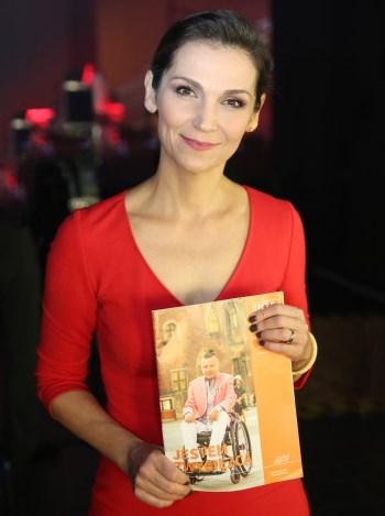 Olga Bończyk z magazynem Integracja