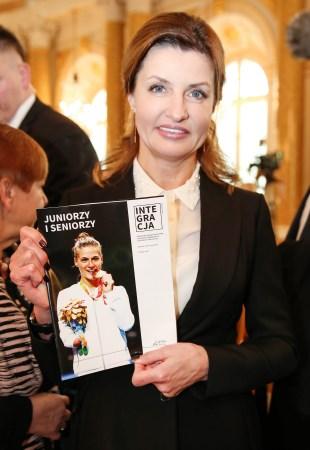 Pierwsza dama Ukrainy Maryna Poroszenko z okładką magazynu Integracja