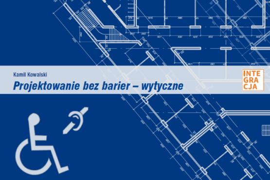 Okładka podręcznika Projektowanie bez barier