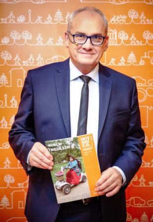 Michał Olszański z magazynem Integracja