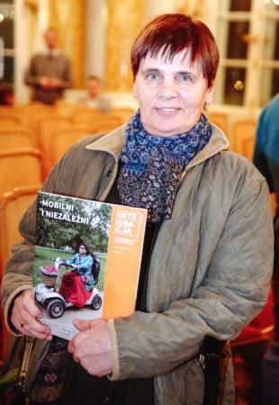 Janka Ochojska z magazynem Integracja