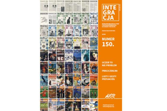Okładka 150. numeru magazynu Integracja