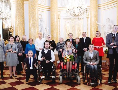 Laureaci 16. edycji konkursu Człowiek bez barier.