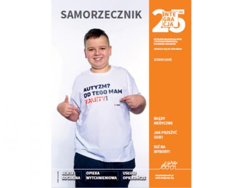 okładka nowego numeru magazynu Integracja z Janem Gawrońskim