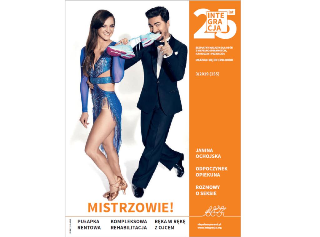 okładka magazynu Integracja nr 3 - Joanna Mazur i Jan Kliment