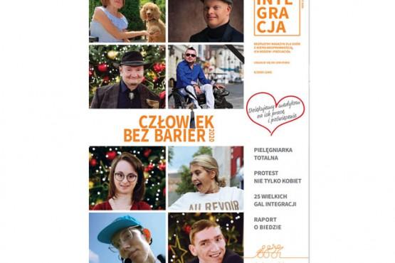 okładka z laureatami konkursu Człowieka bez barier