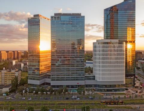 budynek Warsaw Hub OBB