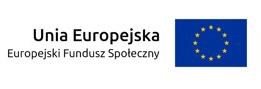 logo Unia Europejska, Europejski Fundusz Społeczny